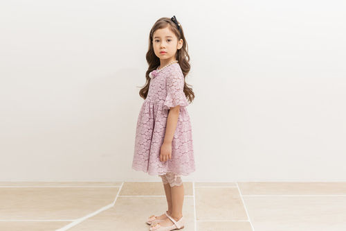 COCO RIBBON - BRAND - Korean Children Fashion - #Kfashion4kids - Lace One-piece