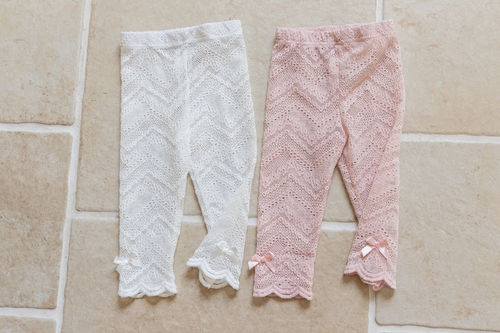 COCO RIBBON - BRAND - Korean Children Fashion - #Kfashion4kids - Lace Leggings