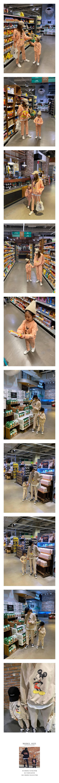 COUPLE - Korean Children Fashion - #Kfashion4kids - Simple Mickey Set with Mom