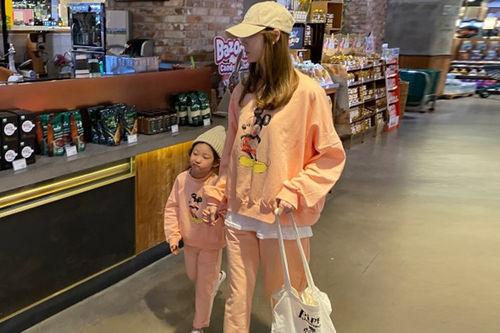 COUPLE - BRAND - Korean Children Fashion - #Kfashion4kids - Simple Mickey Set with Mom