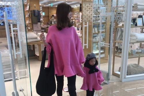 COUPLE - BRAND - Korean Children Fashion - #Kfashion4kids - Mini Flare One-piece with Mom