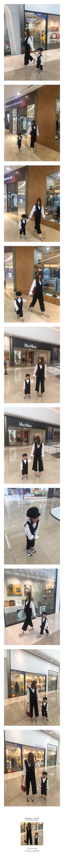 COUPLE - Korean Children Fashion - #Kfashion4kids - V Jumpsuit with Mom