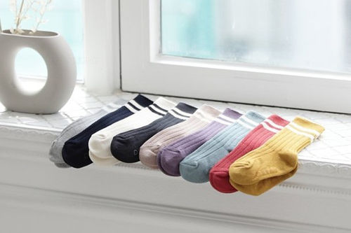DOREMI SOCKS - BRAND - Korean Children Fashion - #Kfashion4kids - Dandy Knee Socks [set of 3]