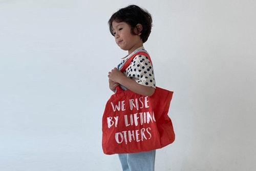 GO;U - BRAND - Korean Children Fashion - #Kfashion4kids - Cotton Bag