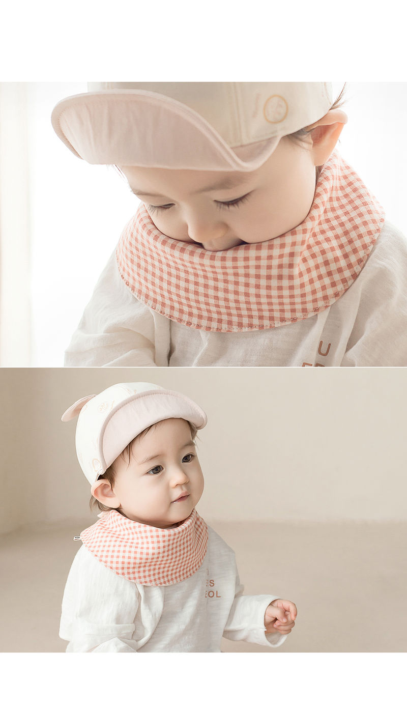HAPPY PRINCE - Korean Children Fashion - #Kfashion4kids - Cherry Pongpong Baby Banana Bib - 6