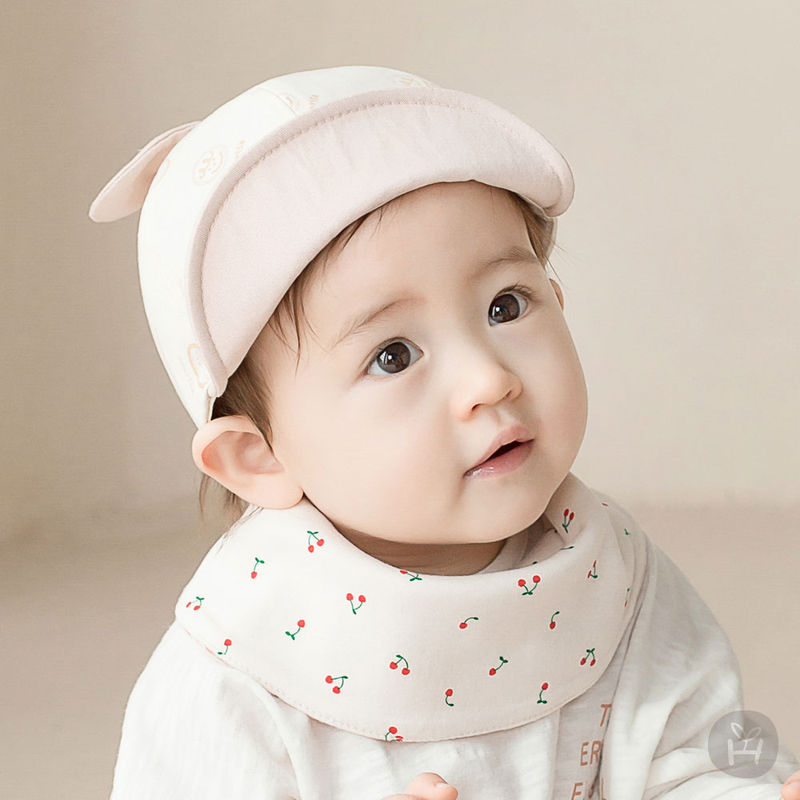 HAPPY PRINCE - BRAND - Korean Children Fashion - #Kfashion4kids - Cherry Pongpong Baby Banana Bib