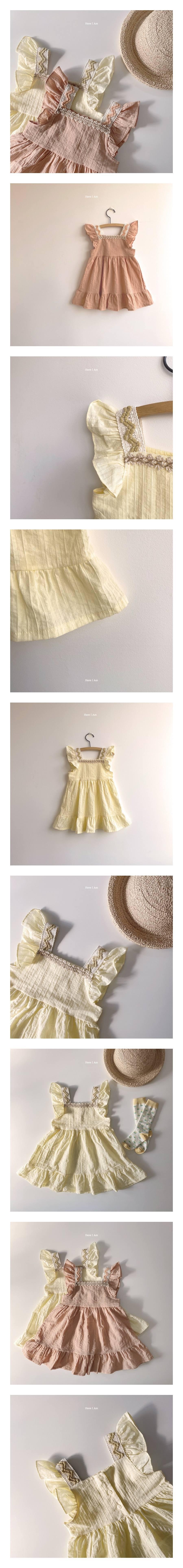 HERE I AM - Korean Children Fashion - #Kfashion4kids - Hazel One-piece