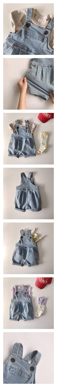 HERE I AM - Korean Children Fashion - #Kfashion4kids - Rodie Denim Overalls