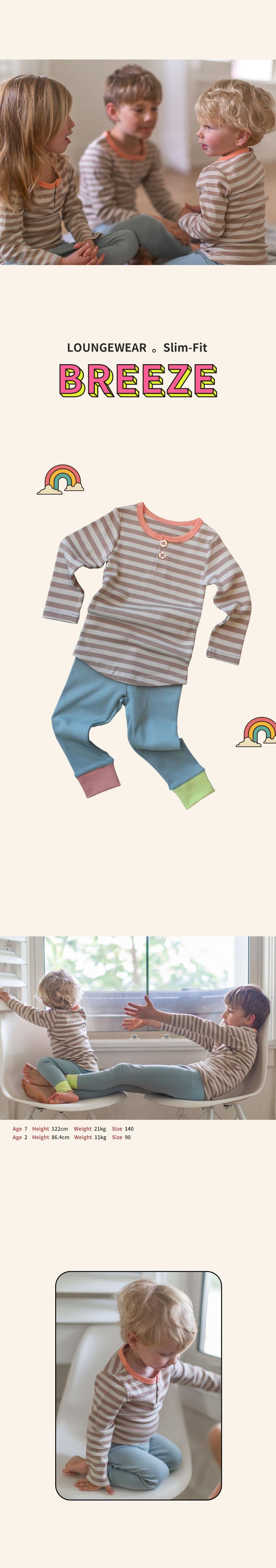 KOKACHARM - Korean Children Fashion - #Kfashion4kids - Breeze Loungewear