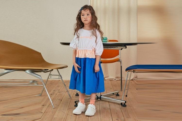 LILAS - BRAND - Korean Children Fashion - #Kfashion4kids - Sherry Tiered One-piece