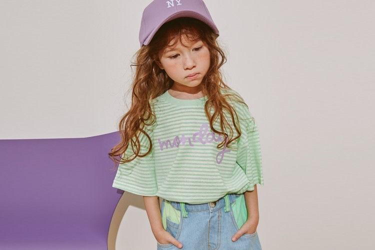LILAS - BRAND - Korean Children Fashion - #Kfashion4kids - Monday Tee