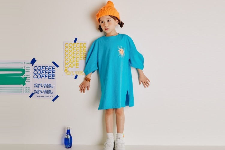 LILAS - BRAND - Korean Children Fashion - #Kfashion4kids - Sunshine One-piece