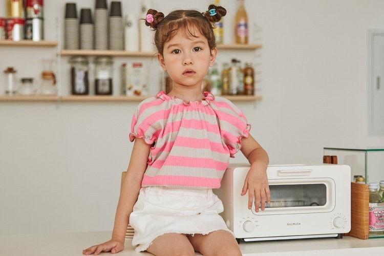 LILAS - BRAND - Korean Children Fashion - #Kfashion4kids - Ribbed Tee