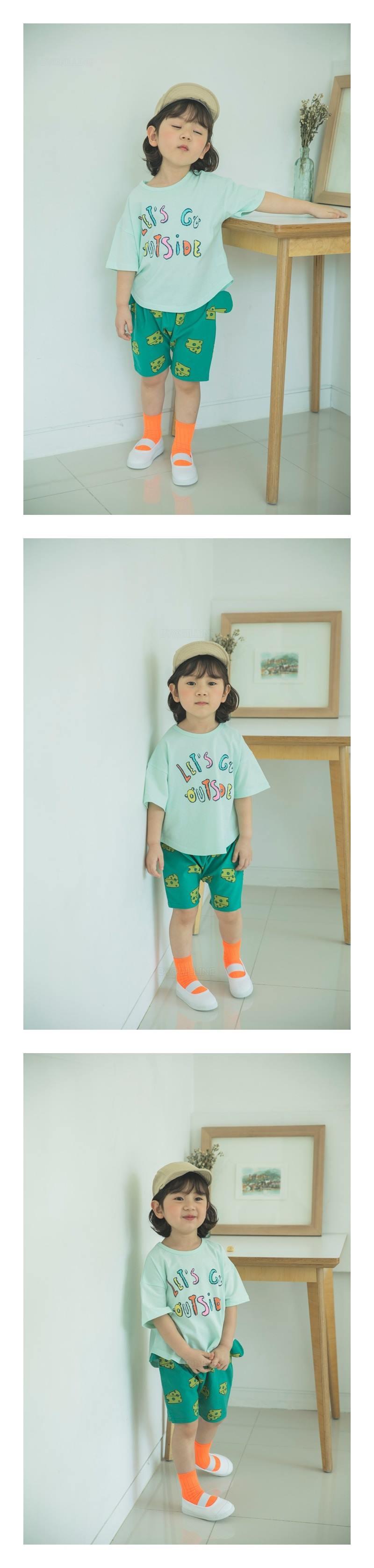 MIMICO - Korean Children Fashion - #Kfashion4kids - Cheese Shorts