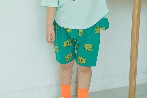 MIMICO - BRAND - Korean Children Fashion - #Kfashion4kids - Cheese Shorts