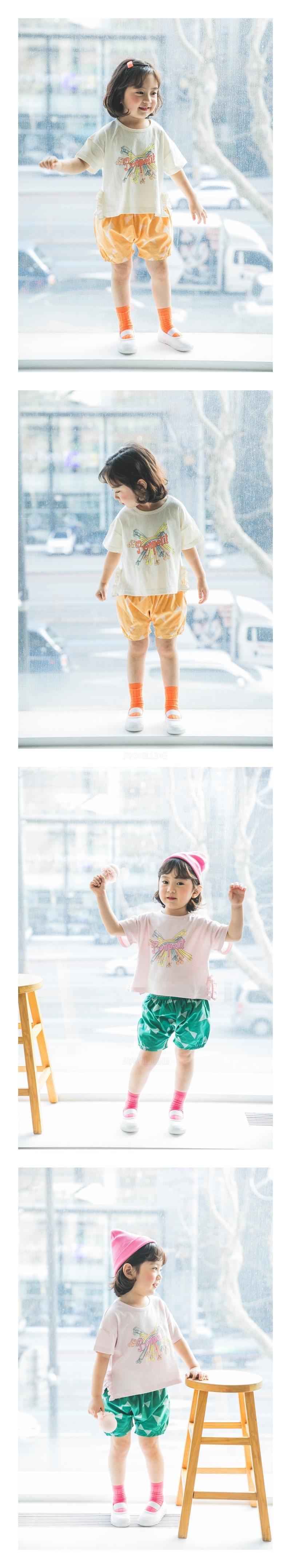MIMICO - Korean Children Fashion - #Kfashion4kids - Ribbon Shorts