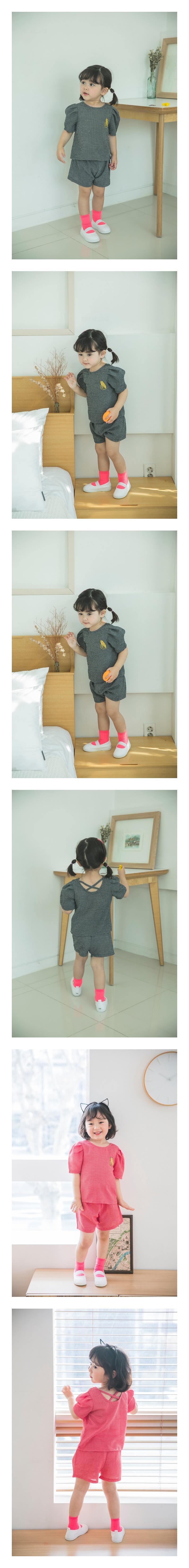 MIMICO - Korean Children Fashion - #Kfashion4kids - Bonito Top Bottom Set