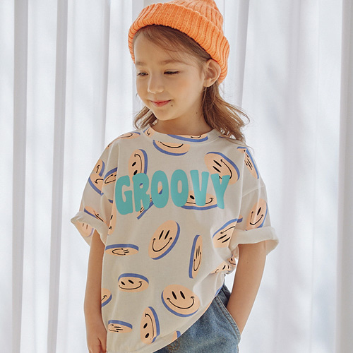 MINIATURE - BRAND - Korean Children Fashion - #Kfashion4kids - Coin Boxy Tee