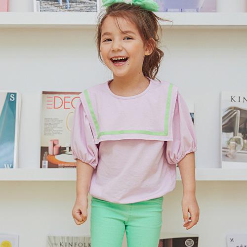 MINIATURE - BRAND - Korean Children Fashion - #Kfashion4kids - Sailor Collar Tee