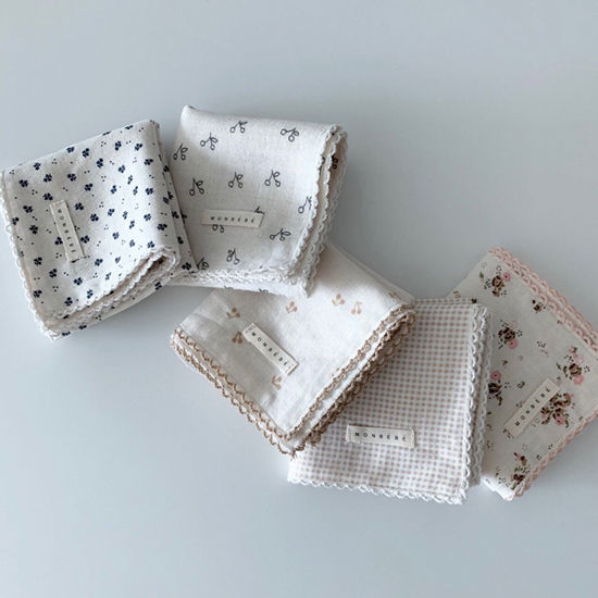 MONBEBE - Korean Children Fashion - #Kfashion4kids - Double Muslin Hankie - 6