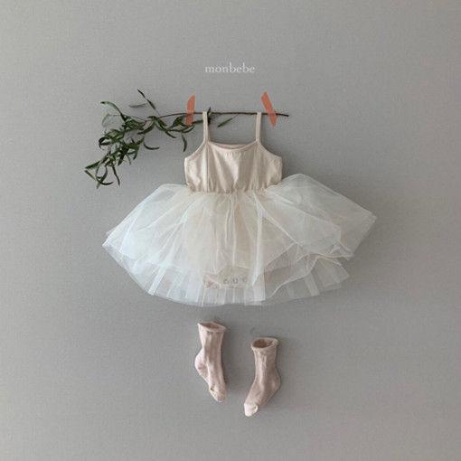 MONBEBE - BRAND - Korean Children Fashion - #Kfashion4kids - Tutu Bebe Bodysuit