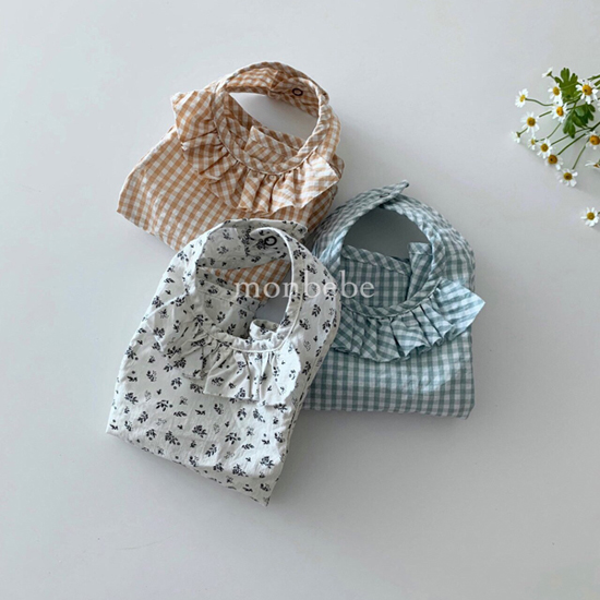 MONBEBE - Korean Children Fashion - #Kfashion4kids - Frill Bib