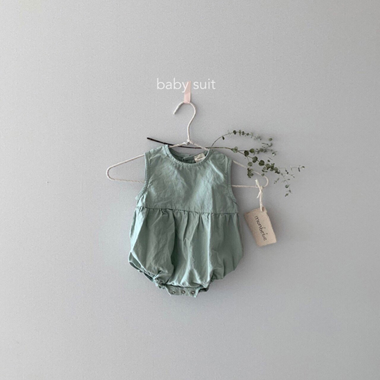 MONBEBE - Korean Children Fashion - #Kfashion4kids - Bongbong Bodysuit - 8