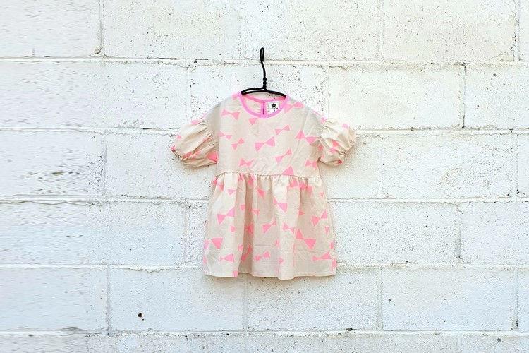 NESTAR - BRAND - Korean Children Fashion - #Kfashion4kids - Ribbon One-piece