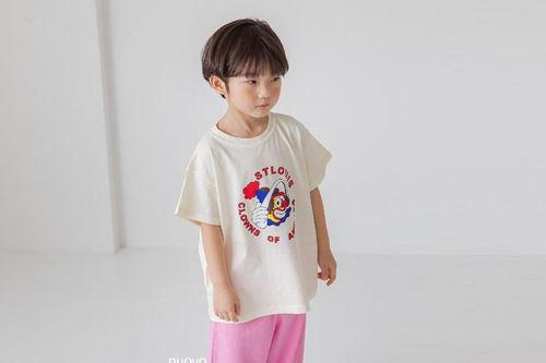 NUOVO - BRAND - Korean Children Fashion - #Kfashion4kids - Pierrot Tee