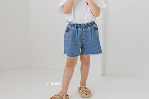 NUOVO - BRAND - Korean Children Fashion - #Kfashion4kids - Denim Short Pants