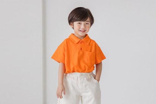 NUOVO - BRAND - Korean Children Fashion - #Kfashion4kids - Collar Tee