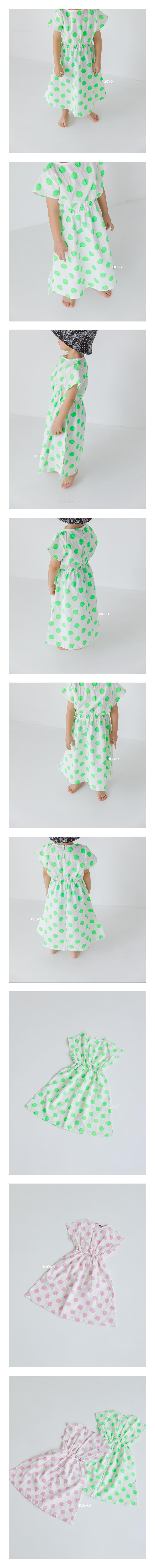 NUOVO - Korean Children Fashion - #Kfashion4kids - Dot One-piece