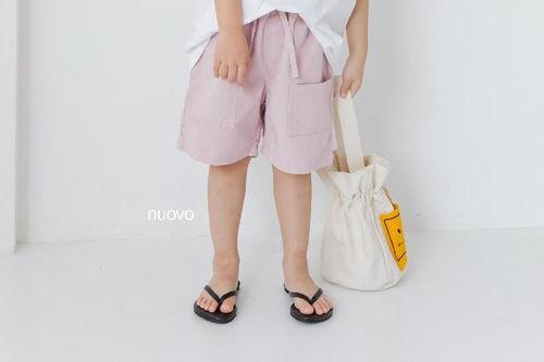 NUOVO - BRAND - Korean Children Fashion - #Kfashion4kids - Bottle Short Pants