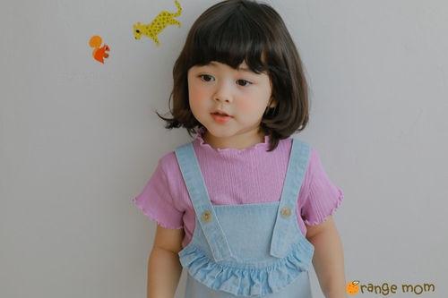 ORANGE MOM - BRAND - Korean Children Fashion - #Kfashion4kids - Rib Tee