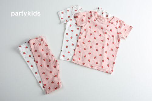 PARTY KIDS - BRAND - Korean Children Fashion - #Kfashion4kids - Strawberry Easywear