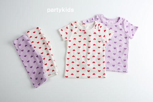PARTY KIDS - BRAND - Korean Children Fashion - #Kfashion4kids - Heart Easywear