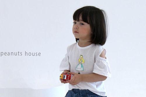 PEANUTS - BRAND - Korean Children Fashion - #Kfashion4kids - Girls Tee