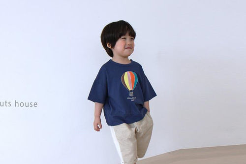 PEANUTS - BRAND - Korean Children Fashion - #Kfashion4kids - Balloon Tee