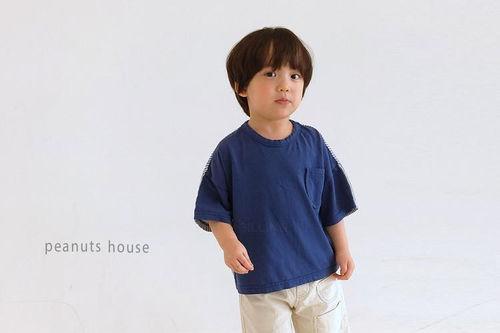 PEANUTS - BRAND - Korean Children Fashion - #Kfashion4kids - Stripe Tee