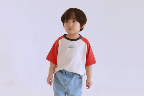 PEANUTS - BRAND - Korean Children Fashion - #Kfashion4kids - Mini Car Tee