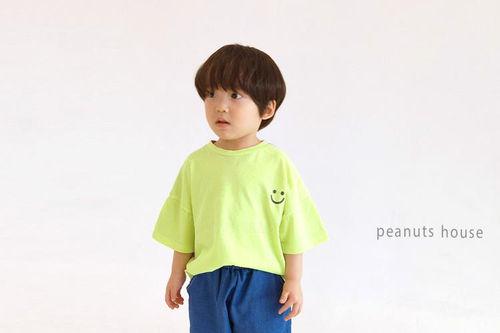 PEANUTS - BRAND - Korean Children Fashion - #Kfashion4kids - Thank You Tee