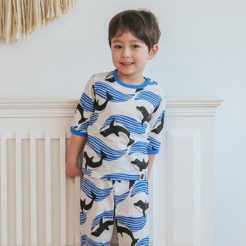 VOVO - BRAND - Korean Children Fashion - #Kfashion4kids - Whale Easywear