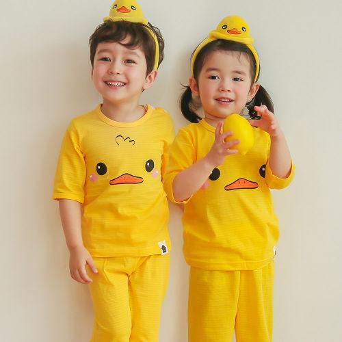 VOVO - BRAND - Korean Children Fashion - #Kfashion4kids - Duck Easywear