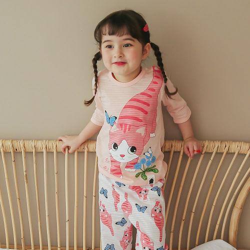 VOVO - BRAND - Korean Children Fashion - #Kfashion4kids - Meow Easywear