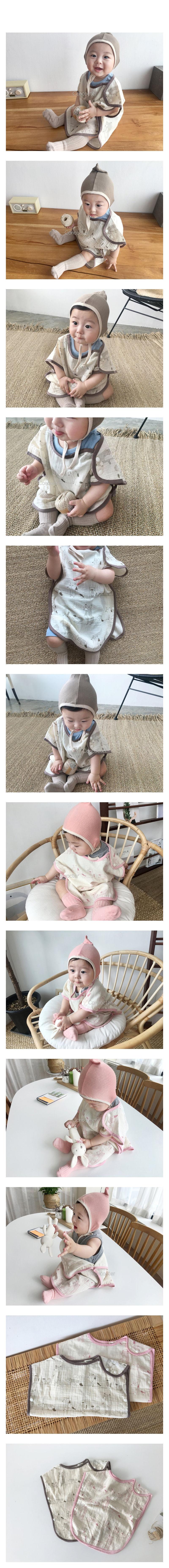 CONCOCTER - Korean Children Fashion - #Kfashion4kids - Animal Sleep Vest