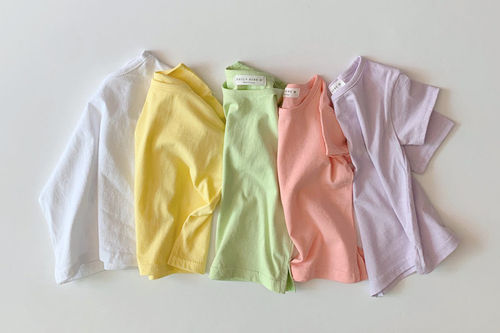 DAILY BEBE - BRAND - Korean Children Fashion - #Kfashion4kids - Summer Basic Tee