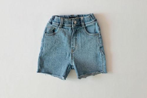 DAILY BEBE - BRAND - Korean Children Fashion - #Kfashion4kids - Denim Short Pants