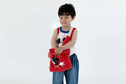 DIGREEN - BRAND - Korean Children Fashion - #Kfashion4kids - Mickey Cross Bag