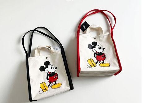 DIGREEN - BRAND - Korean Children Fashion - #Kfashion4kids - Mickey Canvas Bag