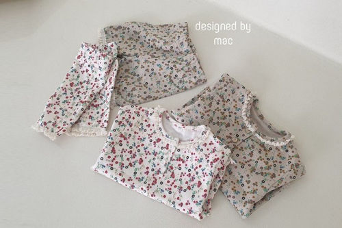 MAC - BRAND - Korean Children Fashion - #Kfashion4kids - Baby Olive Loungewear